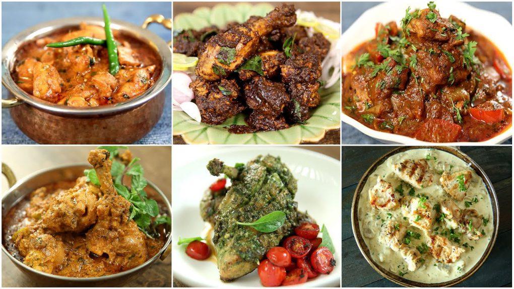 Valentine's Day Chicken Dinner Recipes   Easy Chicken Recipes   Mushroom Chicken   Chicken Handi