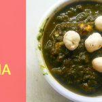 Paalak makhana | Fox seeds spinach recipe | Kidelicious recipes