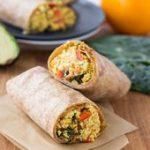 Vegan Superfood Breakfast Burritos | veggieandthebeast……