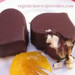 Valentine Day Dessert recipe. Sweet hearts
