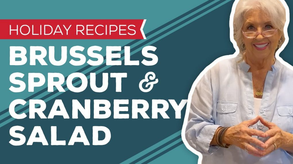 Holiday Recipes: Brussels Sprout & Cranberry Salad Recipe