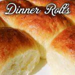 Dinner Rolls Recipe  How to make Dinner Rolls  With English Subtitles/Homemade Dinner Rolls/Milk Bun