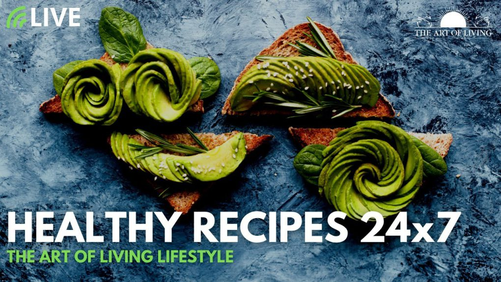 Healthy Recipes 24×7 | Immunity Boosters | Healthy Eating | The Art of Living Lifestyle