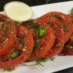 Tomato Salad Dhaba Style/ Tomato Salad Recipe (Aparna's MAGIC episode 226)