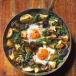 This baked eggs recipe is made using just one pan and is great to share for brun…