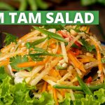 Som Tam Salad Recipe | Green Papaya Salad | Healthy Salad Recipes | Easy Salad Recipes | Cookd