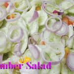 Cucumber Salad | Easy Cucumber Salad recipe | Sheena and Mom