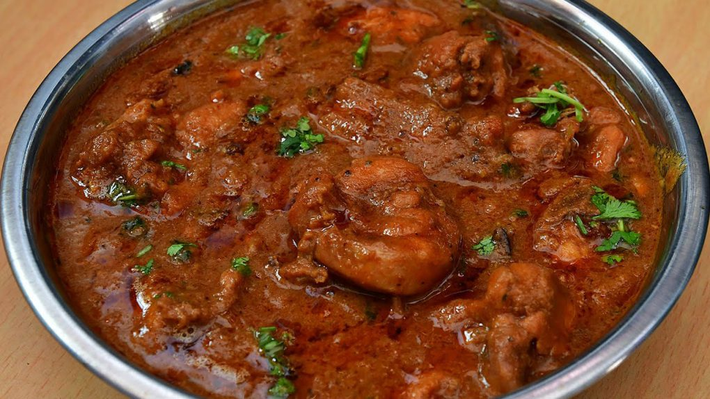 Tasty Garlic Chicken Curry/ Spicy Chicken Gravy/ Chicken Recipes