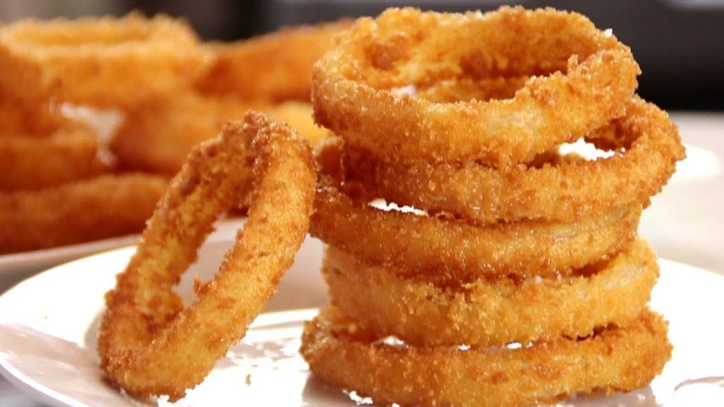 Homemade Onion Rings – Super Crispy Easy and Delicious