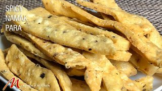 Spicy Namak Para (Savory Appetizer Indian Snack) Recipe by Manjula