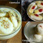 3 easy bengali sweets – rasgulla recipe | rasmalai recipe | chum chum recipe