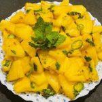 Variety Pineapple Salad Recipe|in malayalam|