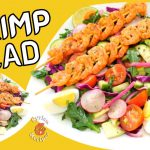 Shrimp Salad Recipe   tasty & healthy with Simple Lemon Dressing   by Syrian Recipes.