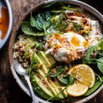 Turkish Egg and Quinoa Breakfast Bowl | halfbakedharvest.com Half Baked Harvest…