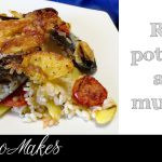 Rice, potatoes and mussels traditional Southern Italian recipe| Christmas dinner food ideas for main