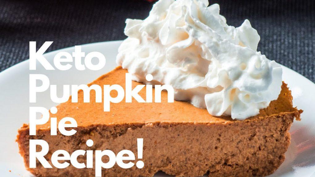 Keto Pumpkin Pie Recipe!