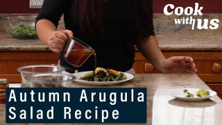 Autumn Arugula Salad Recipe | Cook With Us | Well+Good