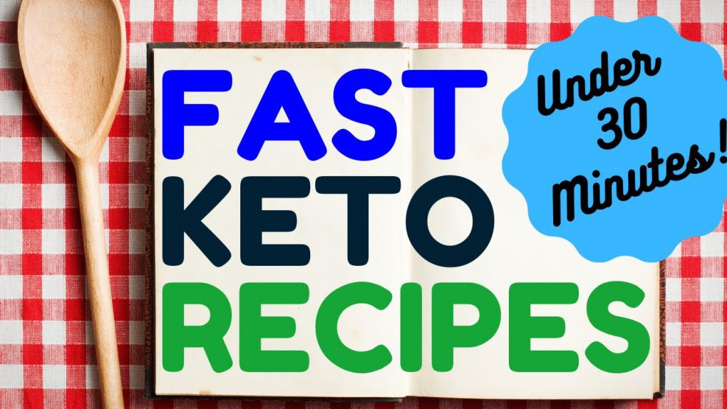 NEW! Fast Keto Recipes – 30 Minutes or Less! The DIRTY, LAZY, KETO No Time to Cook Cookbook #Ketosis