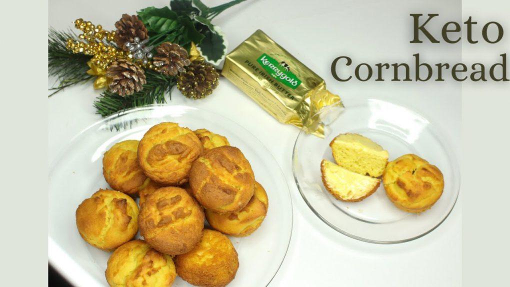 BEST Keto cornbread recipe | How to Make Easy Keto Cornbread