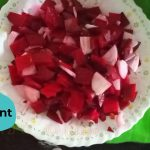 Beetroot Salad in 1 second // Simple Healthy Homemade Vegetarian Salad Recipe