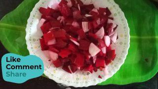 Beetroot Salad in 1 second // Simple Healthy Homemade Vegetarian Salad Recipe