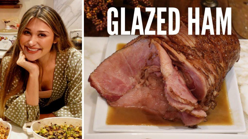 BEST KETO HONEY GLAZED HAM – How to Make a BROWN SUGAR & HONEY GLAZED BAKED HAM for Thanksgiving!