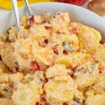 Kartoffelsalat mit Paprika und Joghurt – Katha-kocht!…