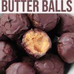 No Bake Chocolate Peanut Butter Balls