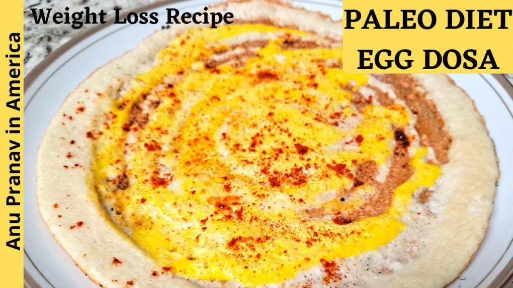Paleo Egg dosa | Paleo diet | paleo recipes in tamil | Keto recipes | weightloss recipe/paleo nonveg