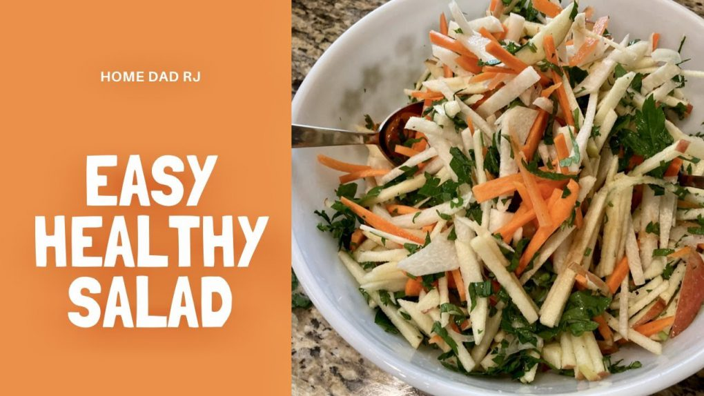 Jicama Apple Carrot Julienne Salad – Singkamas na Salad- Vegan / Vegetarian Recipe