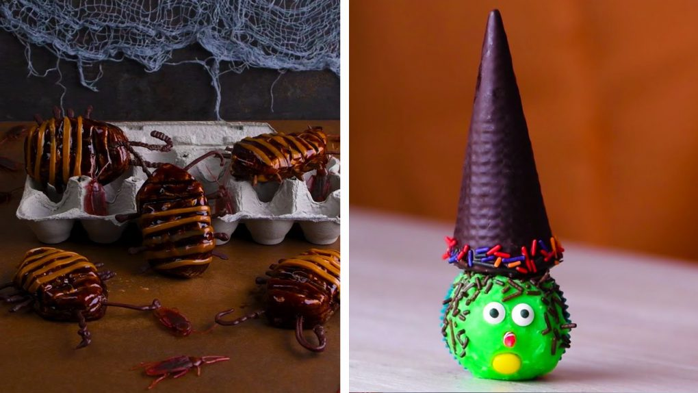Trick or Treat Yo' Self With These Halloween Desserts!   DIY Dessert Recipes by So Yummy
