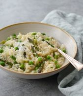 Spring Risotto with Asparagus & Peas – Once Upon a Chef