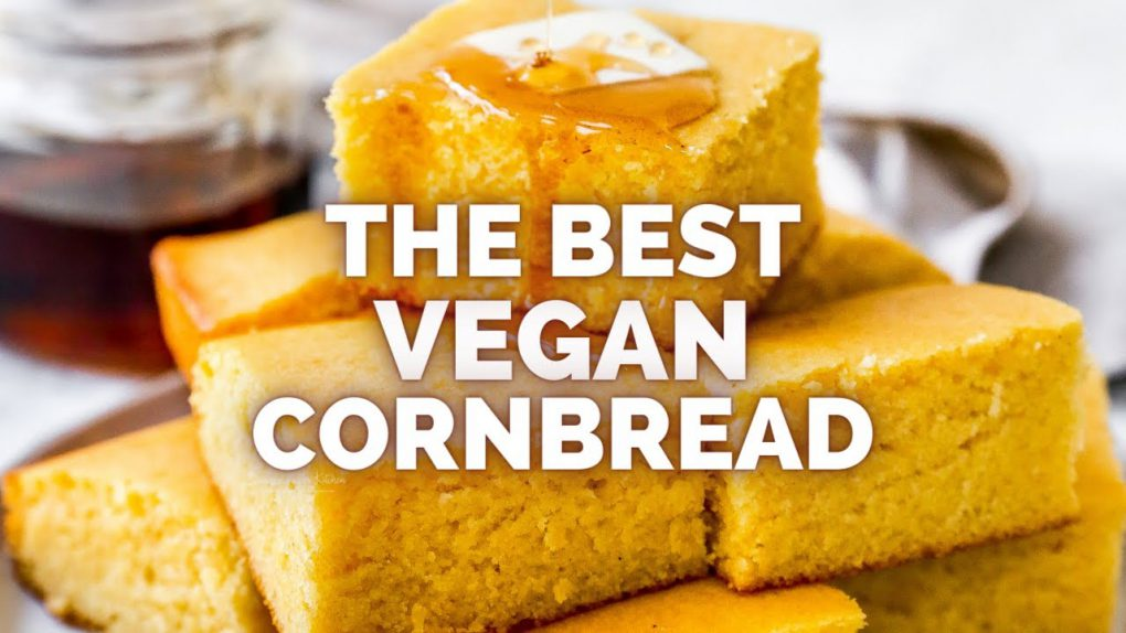 The Best Vegan Cornbread – Vegan Recipes #Shorts