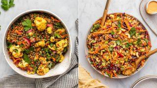 Portable & TASTY Vegan Salad Recipes