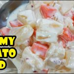 HOW TO MAKE POTATO SALAD | CREAMY POTATO SALAD RECIPE | POTATO SALAD WITH CARROTS AND PINEAPPLE