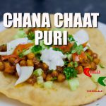 Chana Chaat Puri recipe by Chilli Chef. Suitable for Vegans