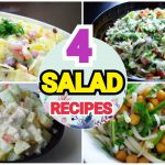 Easy SALAD Recipes by (YES I CAN COOK) #RussianSalad #CreamyChickenSalad #NoddlesSalad #YogurtSalad
