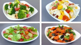 【TOP 8】Healthy Salad Recipes For Weight Loss (SIMPLE SALADS)