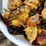 Dry Pepper Chicken recipe | Chicken Murgh Kali Mirch | How to cook Pepper Chicken roast in Tamil
