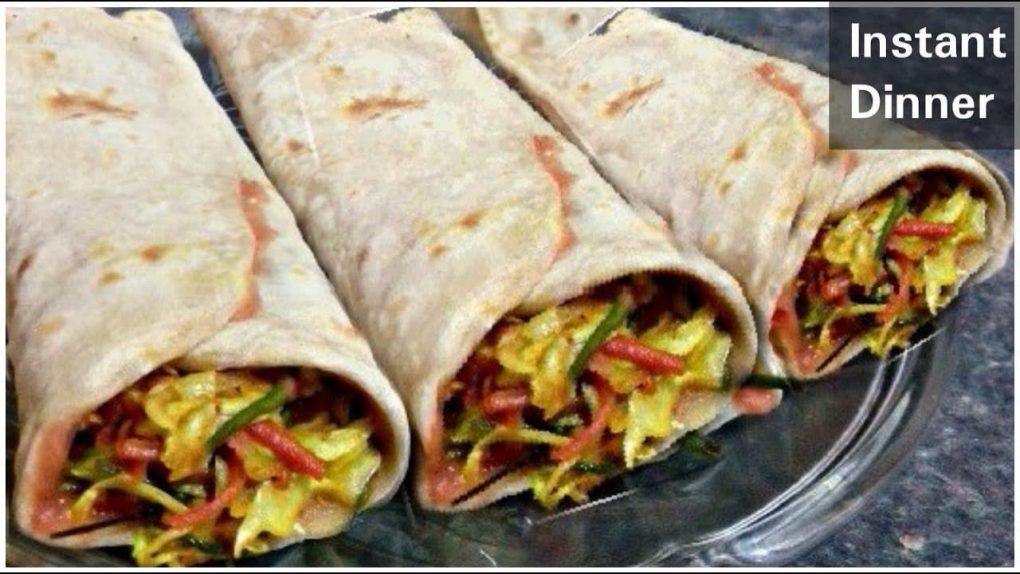 10 Minutes Instant Dinner Recipe|Veg dinner recipes| Dinner recipes indian vegetarian|Dinner recipes