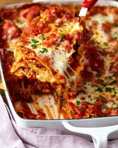 Recipe: Cheesy Vegetarian Lasagna — Quick and Easy Weeknight Dinners…