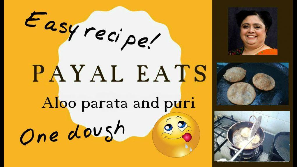 Indian Vegetarian Recipes: How to cook aloo paratha and puri (easy cheat!) | Payal eats aloo parata