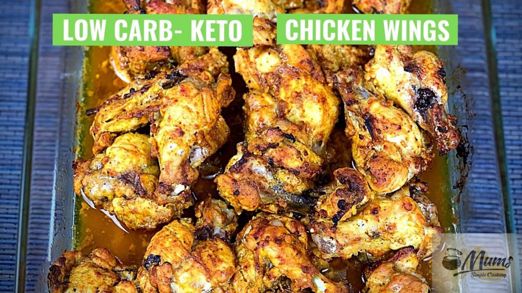 Chicken Wings Low Carb Keto Recipe #Shorts
