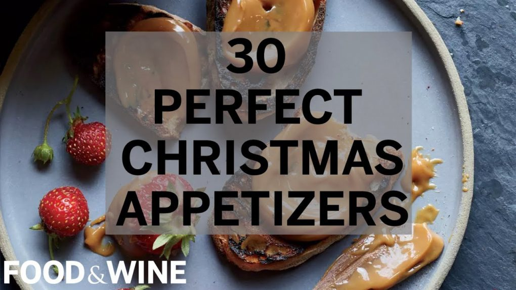 30 Perfect Christmas Appetizers   Food & Wine