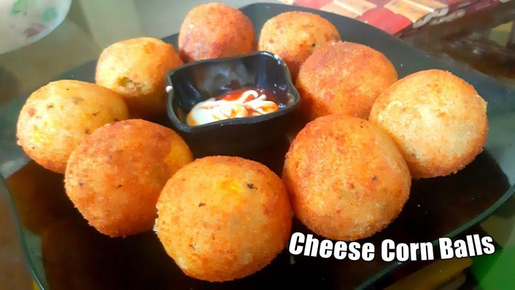 Cheese Corn Balls   Easy Starter Recipe   Appetizer Recipes