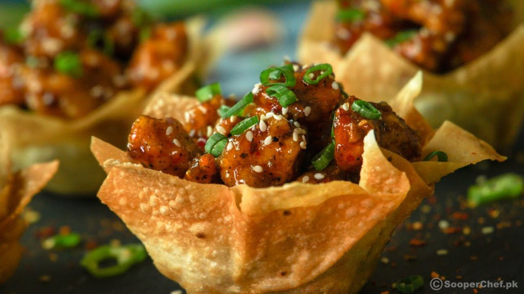 Honey Glazed Chicken Recipe By SooperChef (Appetizer Recipe)