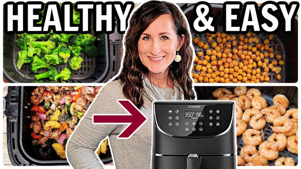 10 EASY & HEALTHY Air Fryer Recipes – THIS is What to Make in Your Air Fryer – Cosori Air Fryer