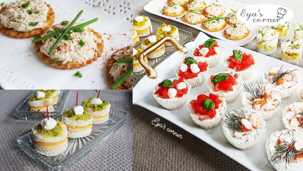 Delicious Party Appetizers _ Dinner Party