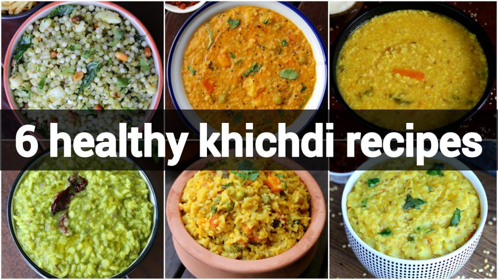 6 healthy khichdi recipes collection |  simple khichdi recipes | vegetable khichdi recipes
