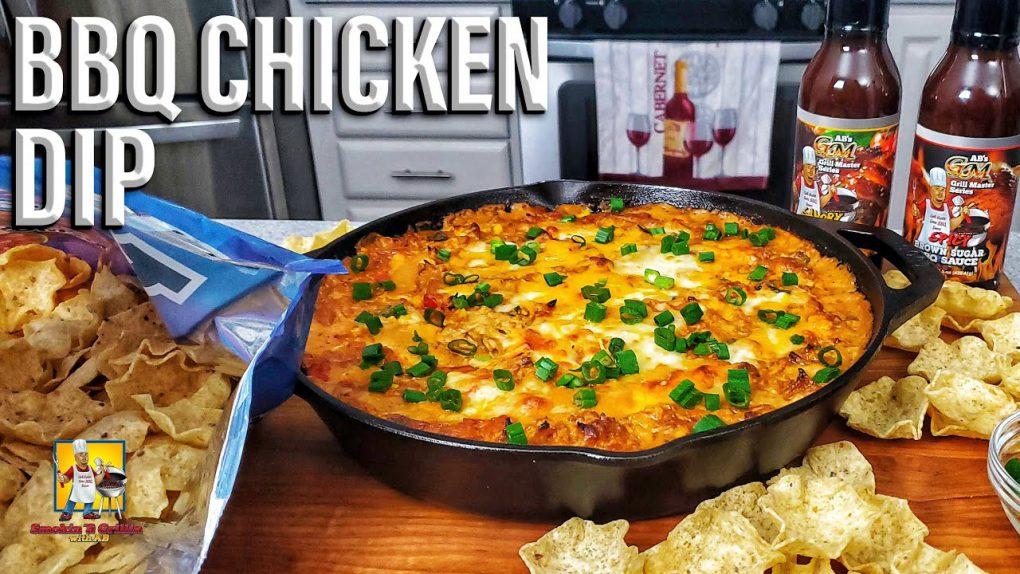 BBQ Chicken Dip   Appetizer Recipe